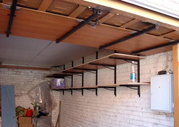 Как сделать стеллажи в гараже своими руками